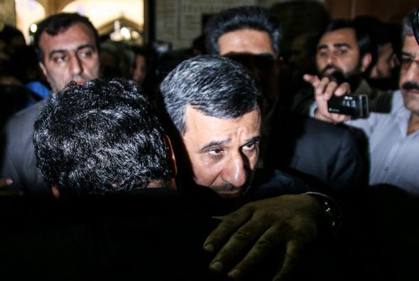 چهره های خاص در مجلس ترحیم هادی نوروزی + تصاوی