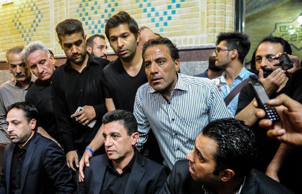 چهره های خاص در مجلس ترحیم هادی نوروزی + تصاویر