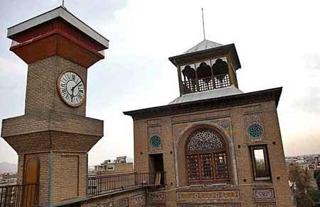 بنای تاریخی شمس العماره تصاویر