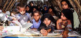 دانشآموزانی که در راه مدرسه با خطر دست و پنجه نرم میکنند