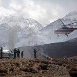 عملیات انتقال پیکر قربانیان پرواز یاسوج متوقف شد
