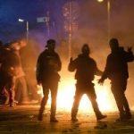 شهدای پلیس دردرگیری های شب گذشته خیابان پاسداران