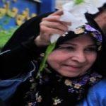 تصاویری از مراسم ختم مادر زهرا رهنورد