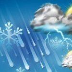 در سه روز آینده در کدام استان های کشور «برف» می بارد ؟