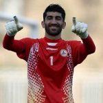 نام علیرضا بیرانوند در بین برترین های لیگ قهرمانان آسیا طبق اعلام AFC
