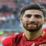 «علیرضا جهانبخش» فوتبالیست معروف به همراه خانواده اش