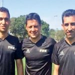 بازگشت تیم داوری ایران از جام جهانی و روبه رو شدن با خانواده هایشان