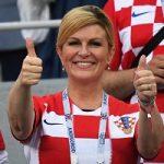 پخش تصاویر بغل های رئیس جمهور کرواسی در تلویزیون ایران