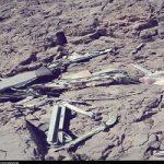 تصاویری از محل سقوط هواپیمای یاسوج بعد از آب شدن برف