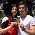 تمرینات ملی پوش سابق تکواندو در کنار همسر ترکیهای اش