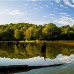 دریاچه سقالکسار وقتی آسمان همنشین دریاچه گیلان می شود