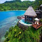 زیباترین و مجلل ترین هتل های روی آب دنیا 2017