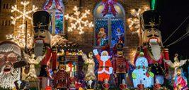 زیباترین خیابانها برای دیدن تزئینات کریسمس در آمریکا