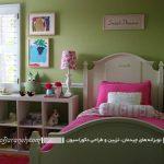 اتاق خواب خود را با رنگ سبز مانند جنگل ها زنده نگه داری! +تصاویر
