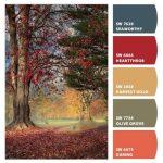 ترکیب رنگ های تند پاییزی برای روح بخشیدن به خانه ها +تصاویر