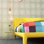 لامپ های روشنایی در اتاق خواب +تصاویر