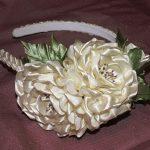 ساخت گل رز روبانی بسیار زیبابرای تزیین تل سر + تصاویر