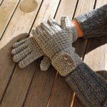 مدل دستکش های بافتنی دخترانه جدید و شیک