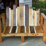 آموزش درست کردن نیمکت بازیافتی با تکه های چوب