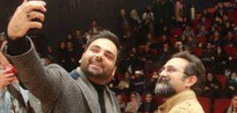 احسان علیخانی در اکران مردمی «بدون تاریخ، بدون امضاء» در مشهد!