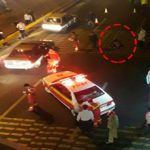 خودکشی دردناک مرد قوی هیکل در بزرگراه امام علی(ع)