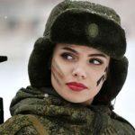 حضور زنان در ارتش کشور پهناور روسیه!+تصاویر
