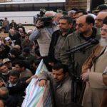 حضور رهبر معظم انقلاب در جمع مردم زلزله زده!