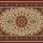 قالیچه افشان گل شاه عباسی از دیگر دستباف های هریس!