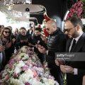 مراسم تشییع و تدفین مینا باشاران در ترکیه