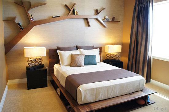 اتاق خواب خلاقانه و فانتزی، با فضایی عاطفی +تصاویر
