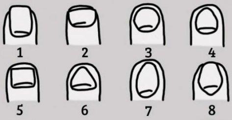 شخصیت شناسی براساس شکل ناخن های شما!