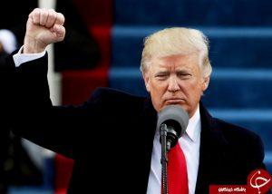 زبان بدن دونالد ترامپ