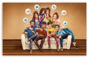 رابطه بین شخصیت و استفاده از رسانه های اجتماعی چیست؟