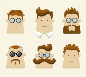 شخصیت شناسی مردان از روی فرم سر