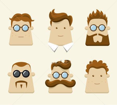 شخصیت شناسی مردان از روی فرم سر و صورت