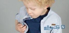 پسر کوچولوی زیبا دچار بیماری زالی مدل پرطرفدار یک برند لباس