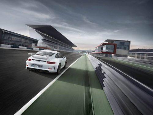 نسل جدید خودرو پورشه GT3 با گیربکس دستی + تصاویر