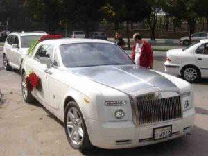 گران قیمت ترین ماشین عروس ایران+تصویر