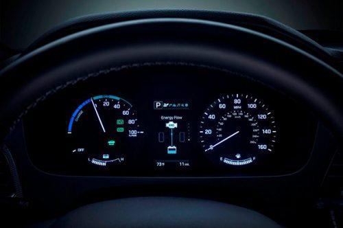 معرفی خودروی هیوندا سوناتا هیبرید مدل ۲۰۱۶ + تصاویر