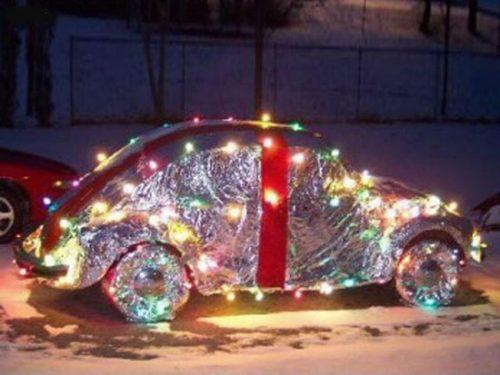 خودروهایی که به استقبال کریسمس رفته اند!+تصاویر