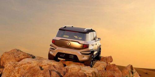رونمایی از مدل مفهومی سنگ یانگ XAV-Adventure + تصاویر