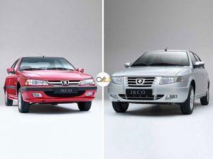 خرید خودرو پژو پارس LX TU5 یا سورن ELX EF7 کدام بهتر است؟+تصاویر