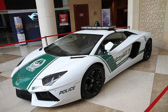 زیباترین خودروهای پلیس لوکس در دبی که خیره کننده اند+تصاویر