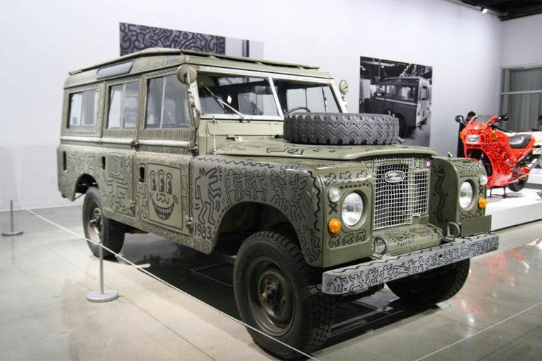 ۵ خودروی هنری دیدنی در نمایشگاه خودروهای 2017+تصاویر