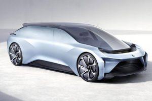 خودرو نیو EVE کانسپت پیشرفته چینی تا ۲۰۲۰برای صادرات به بازار آمریکا+ تصاویر