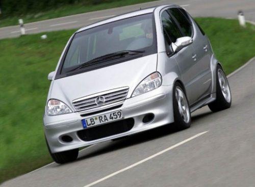 مرسدس بنز A کلاس دوموتوره به بازار خودرو عرضه شد + تصاویر