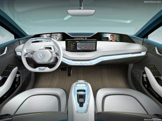 خودرو کانسپت Vision E اشکودا