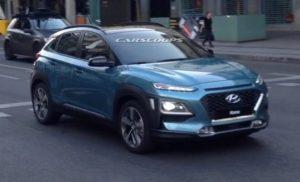 خودروی هیوندای کُنا جدیدترین تصاویر از این کراساوور جدید