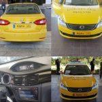 رونمایی از تاکسی هوشمند ایرانی محصول شرکت ایران خودرو