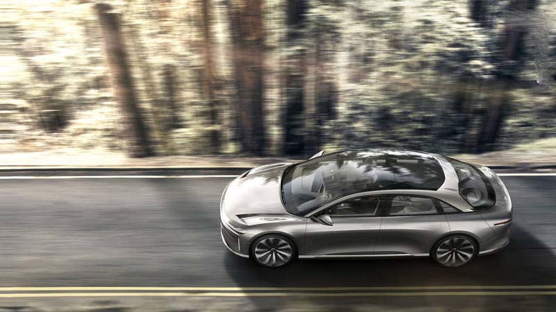 زیباترین خودرو الکتریکی